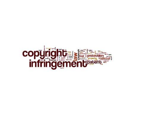 הפרת זכויות יוצרים תמונה להמחשה